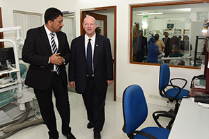 Alain St. Ange, Minister of Tourism and Dr. S.M Balaji