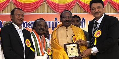 Dr S M Balaji met ISRO Chairman Dr. K.Sivan