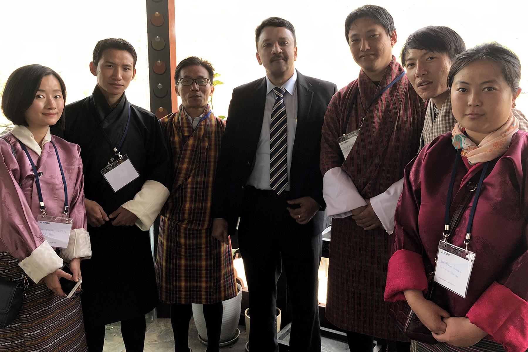 Dr SM Balaji in Paro Bhutan