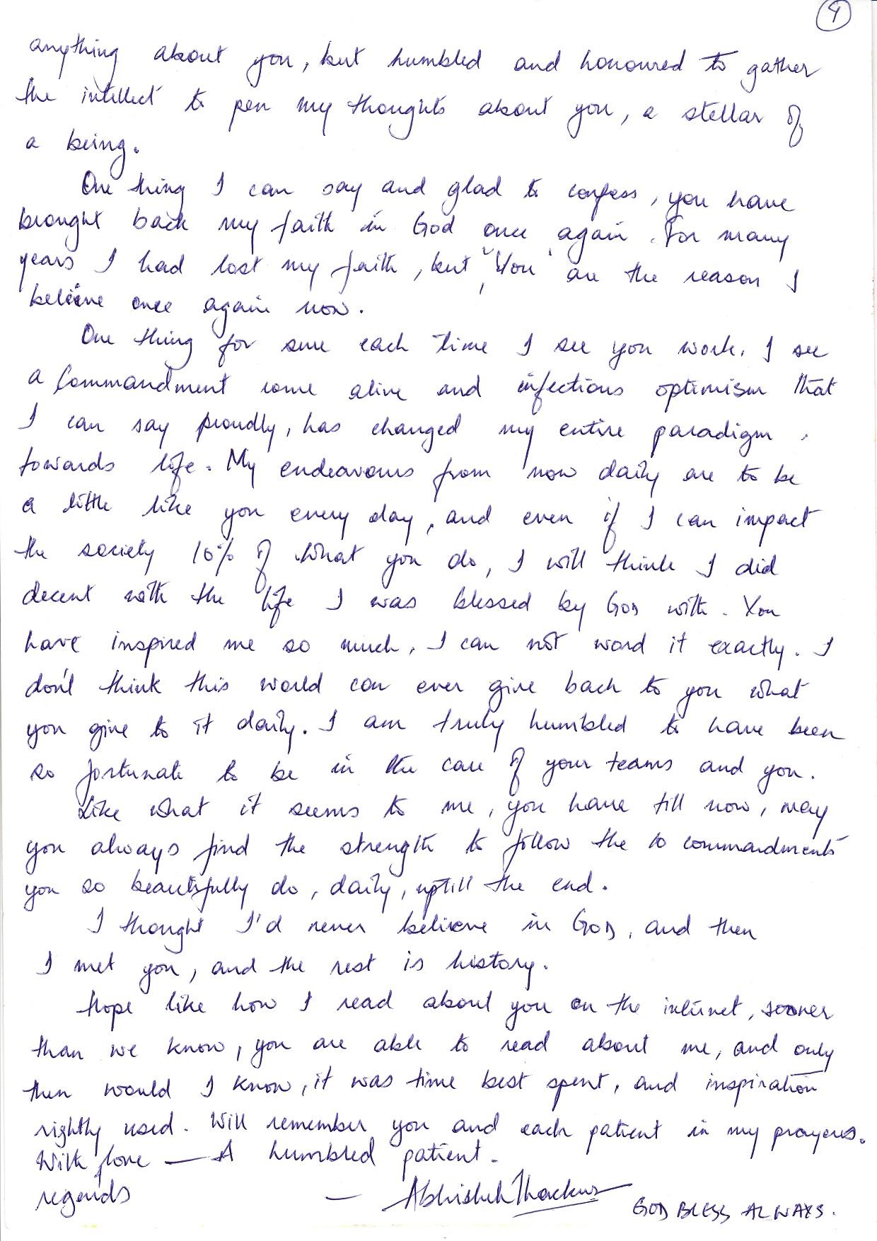 Patient Review Balaji Dental Hospital
