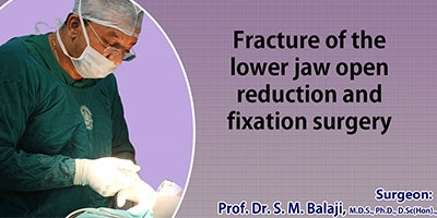Jaw Fracture Surgery in India