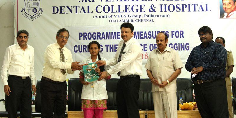 Dr SM Balaji, Dental Council of India Member