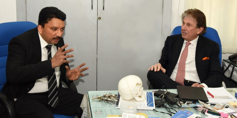 Dr. S.M. Balaji and Dr. Kenneth Salyer