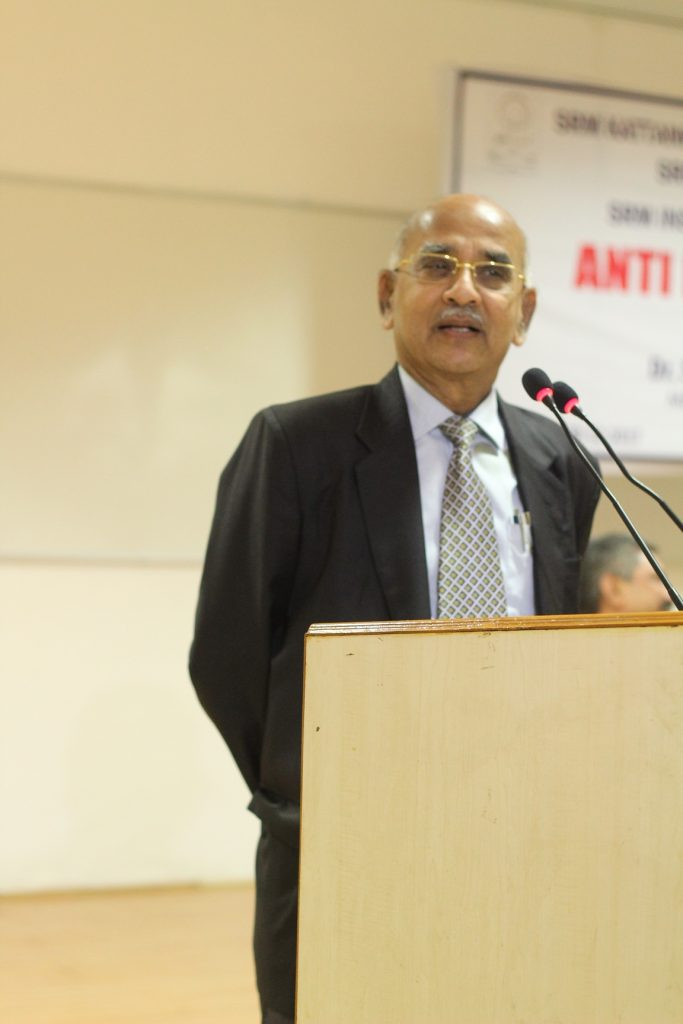 Dr N Sethuraman's opening address at the function formally welcoming Dr Balaji to the function