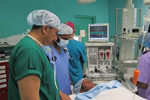 Seychelles Government Hospital operation theatre inauguration