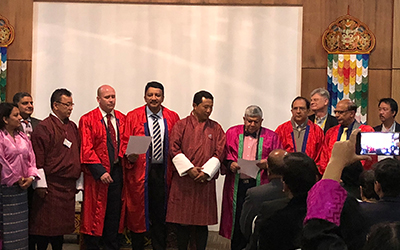 Dr. S.M. Balaji conferred the Craniofacial Research Fellowship Award by the Craniofacial Research Foundation