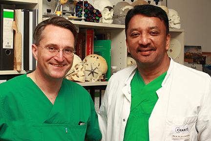 Prof Balaji with Prof Adolphs