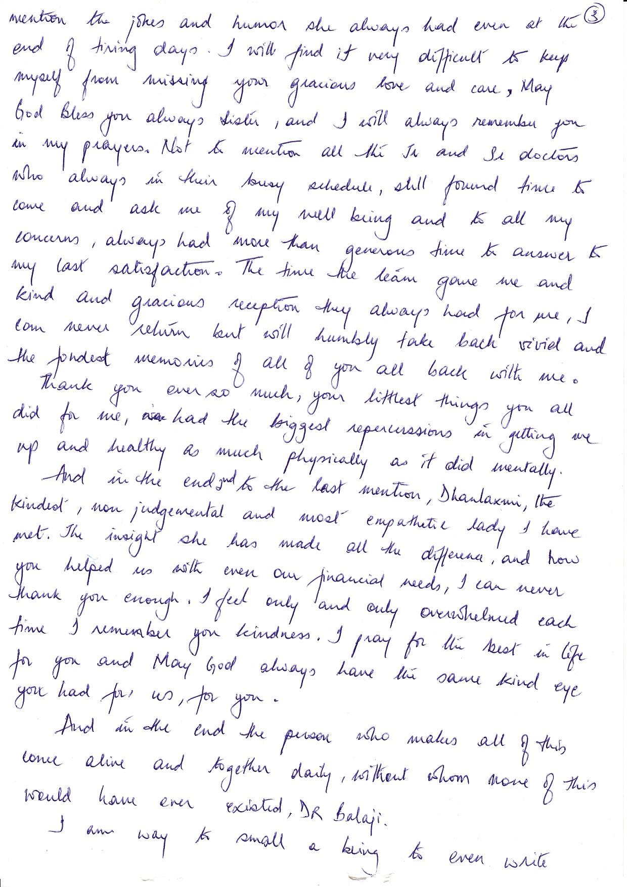 Patient Testimonials Balaji Dental Hospital