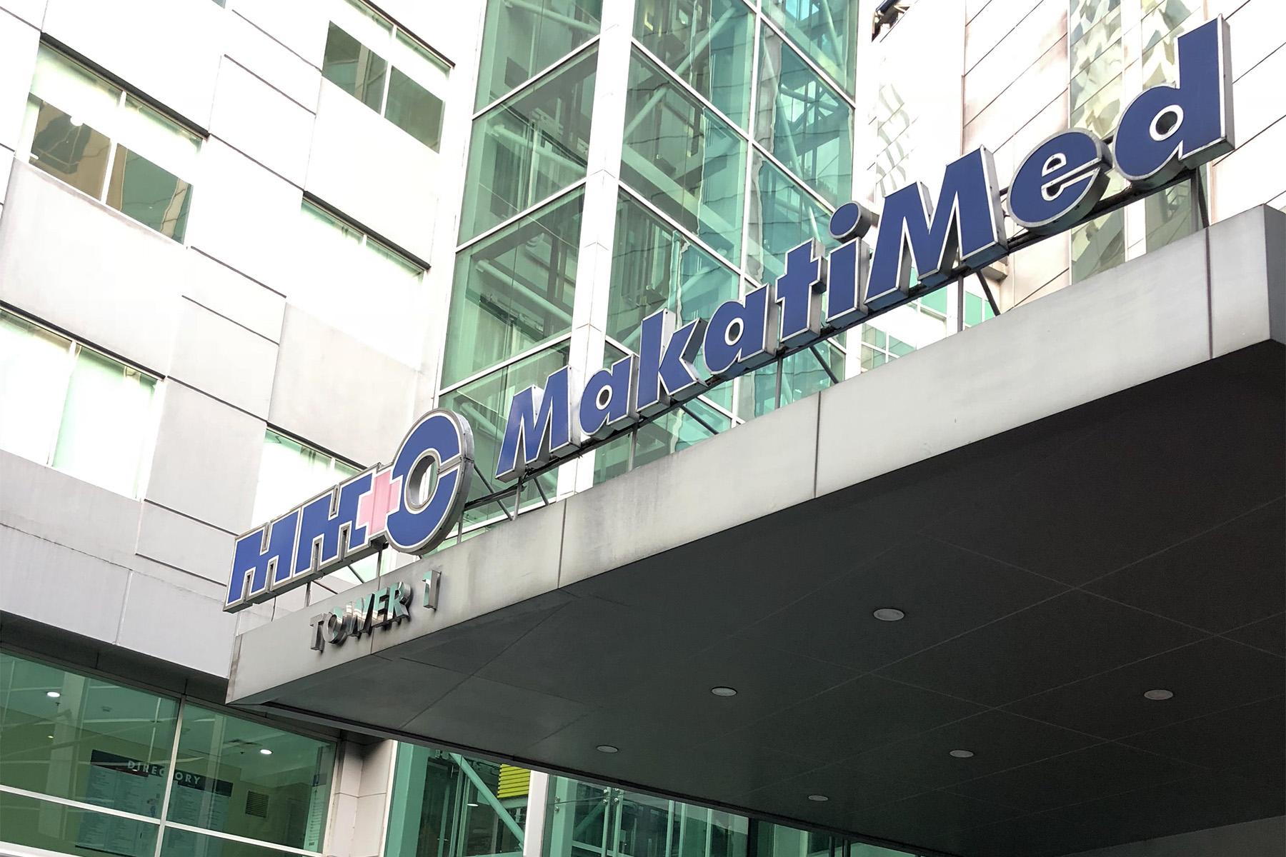 A view of Makati Medical Centre, Manila
