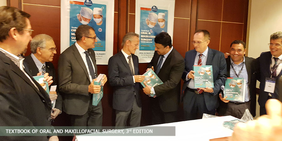 International Release of the 3rd Edition of Prof SM Balaji's Textbook of Oral and Maxillofacial Surgery in Munich, Germany