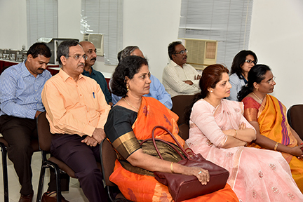 A view of the distinguished audience