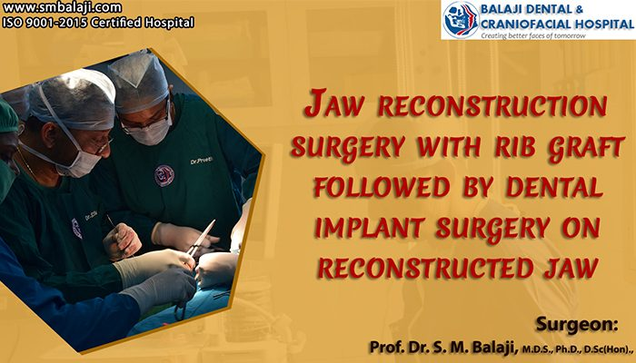 Jaw Reconstruction surgery india
