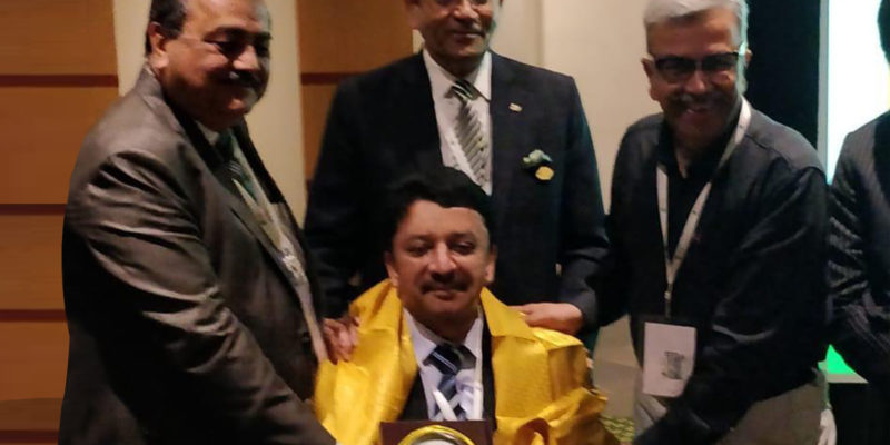 Dr SM Balaji feted for services to humanity