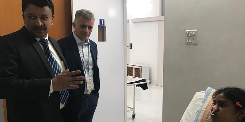 Dr SM Balaji with Dr Konstantinovic